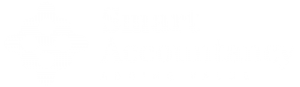 Smart Accountancy Logo in White on Transparent Background